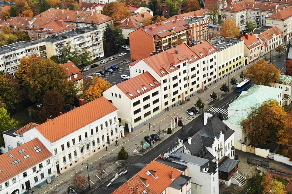 Klaipėdos savivaldybės pastato ateitis: dvi alternatyvos