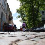 Senamiesčio gatvių rekonstrukcijos kaina šovė į viršų