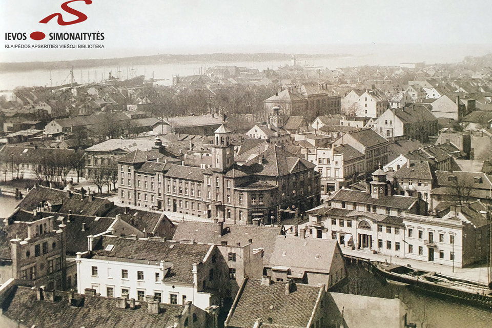 Pradingę Klaipėdos architektūriniai akcentai: birža ir  senasis paštas