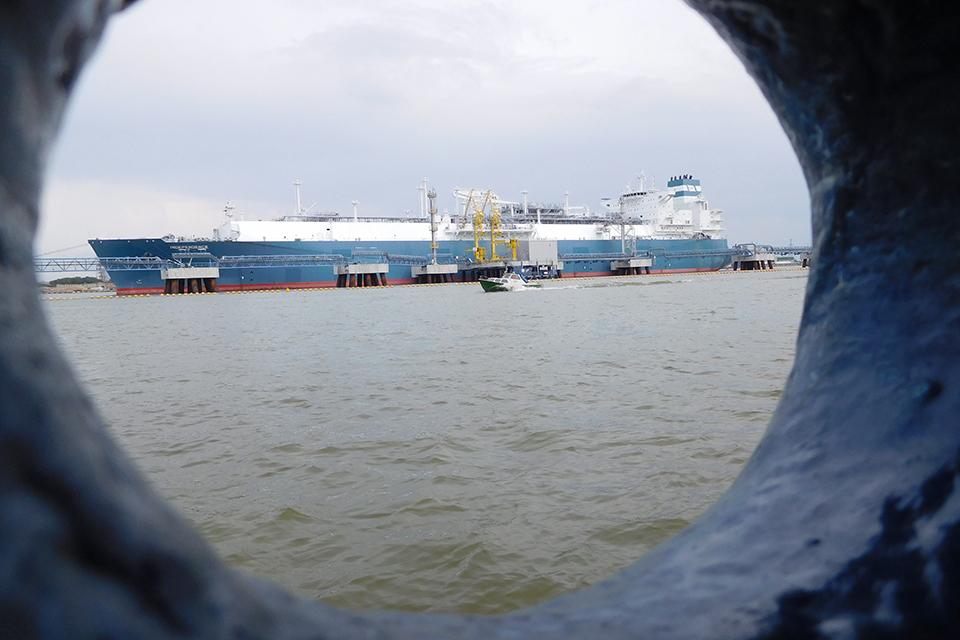 Paskelbė SGD laivo-saugyklos pirkimo konkursą