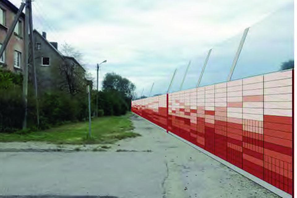 Triukšmą slopinančios sienutės visgi bus