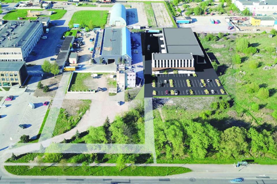 Šilutės plente – du nauji komerciniai pastatai