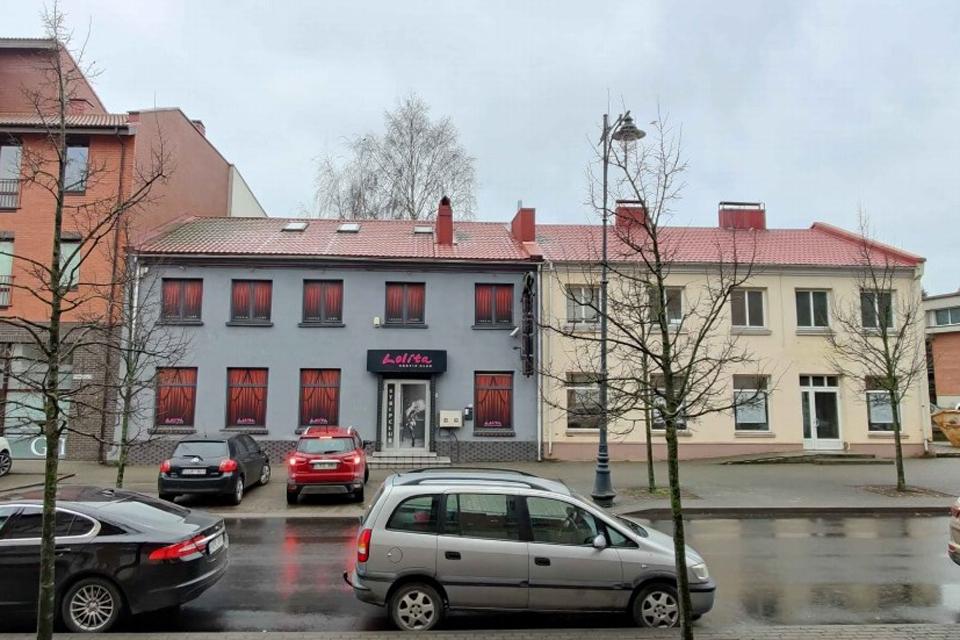 Prie Santuokų rūmų – seno pastato rekonstrukcija