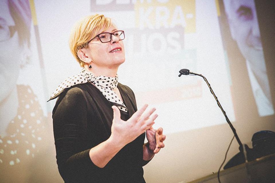 Vakarų Lietuva taip pat palaikė Ingridą Šimonytę