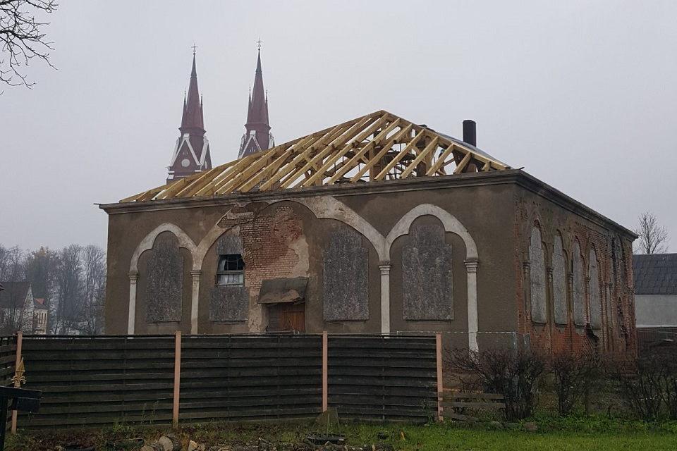 Atgimsta senoji Švėkšnos sinagoga