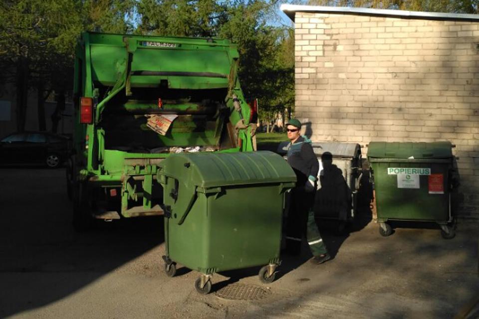 Atliekų rinkliavą žada palikti tokią pačią