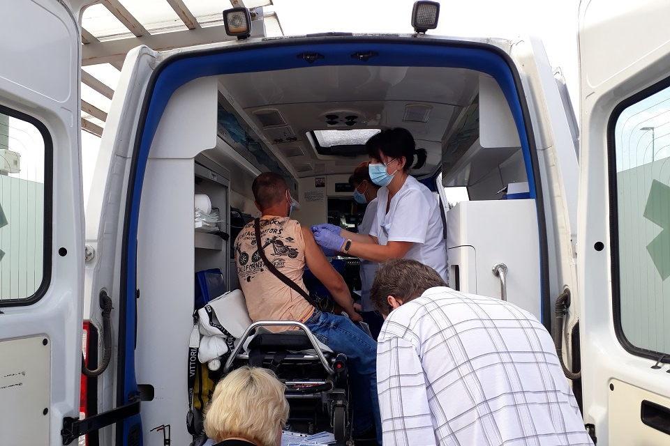 Dvi dienas klaipėdiečius nuo COVID-19 skiepytis kviečia Nacionalinis kraujo centras