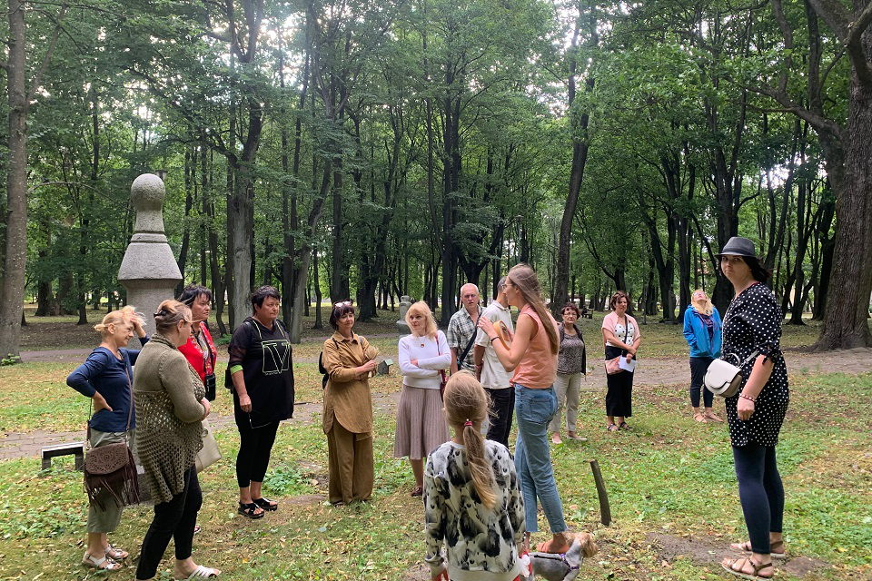 Klaipėdiečiai rašė žinutes Skulptūrų parkui