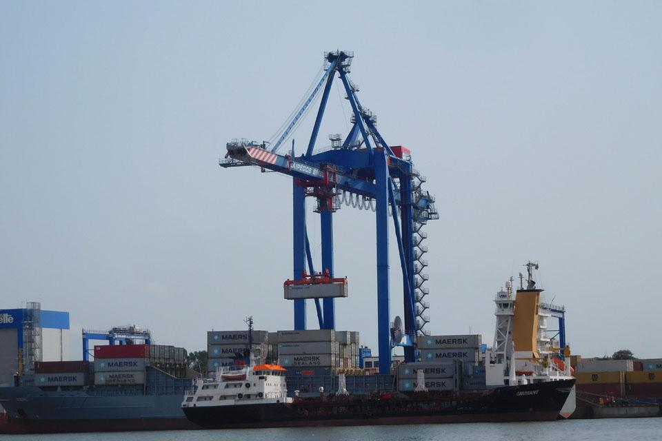 Kurs ateities autonominį žaliąjį uostą