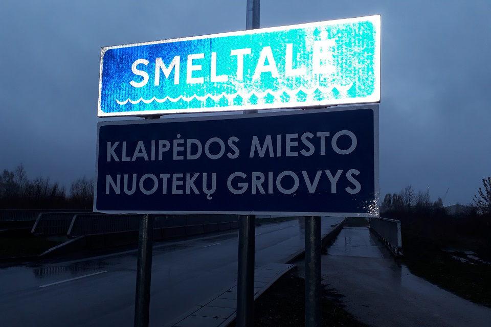 Smeltalė ar Klaipėdos miesto nuotekų griovys?