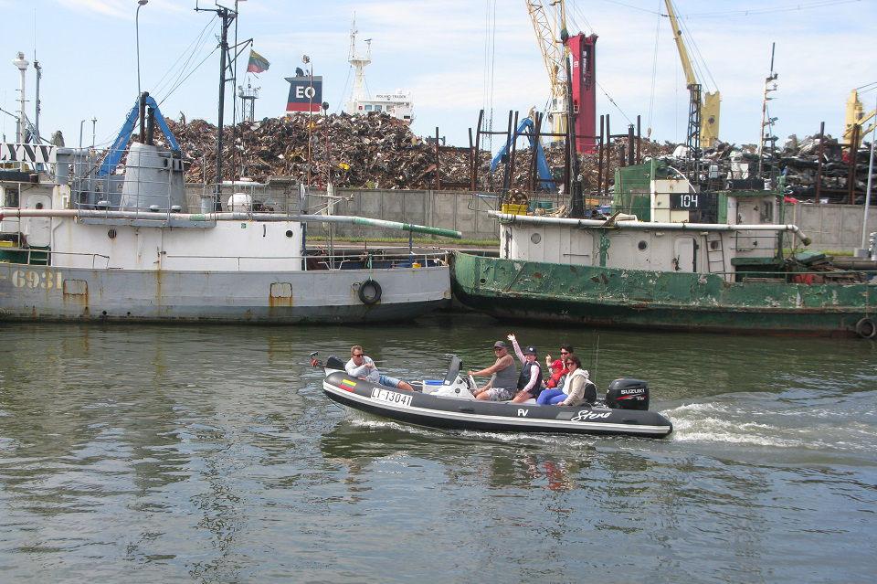 Mažųjų laivų uostelis Kuršių mariose: būti ar nebūti?