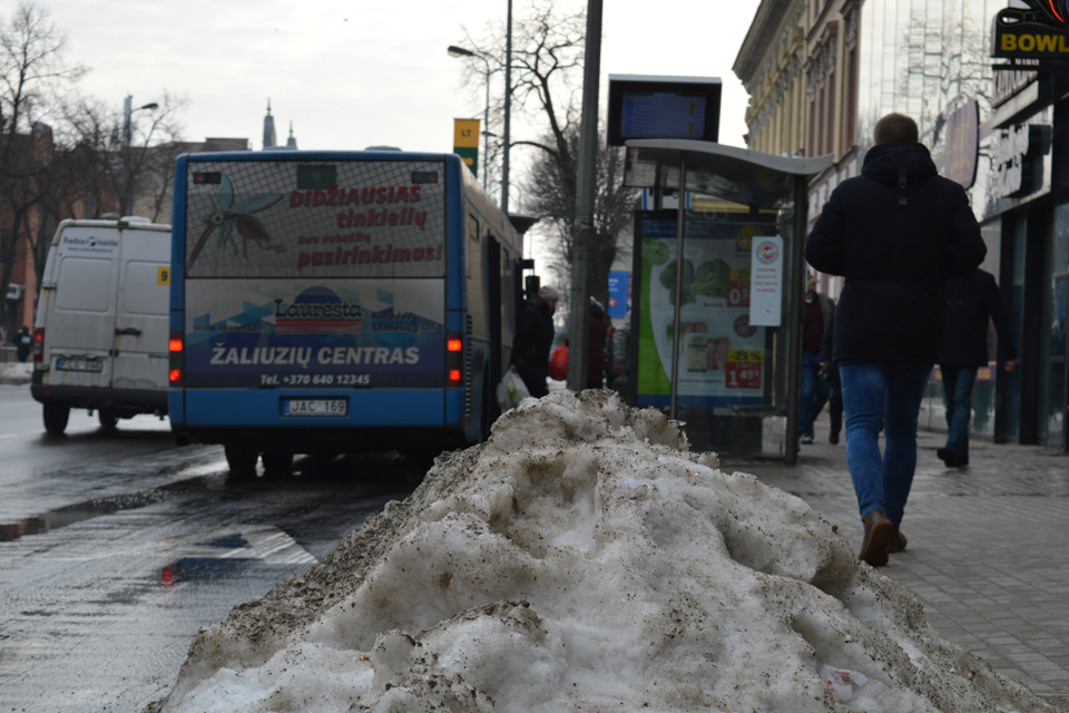 Kitą žiemą su sniegu kovos griežčiau?