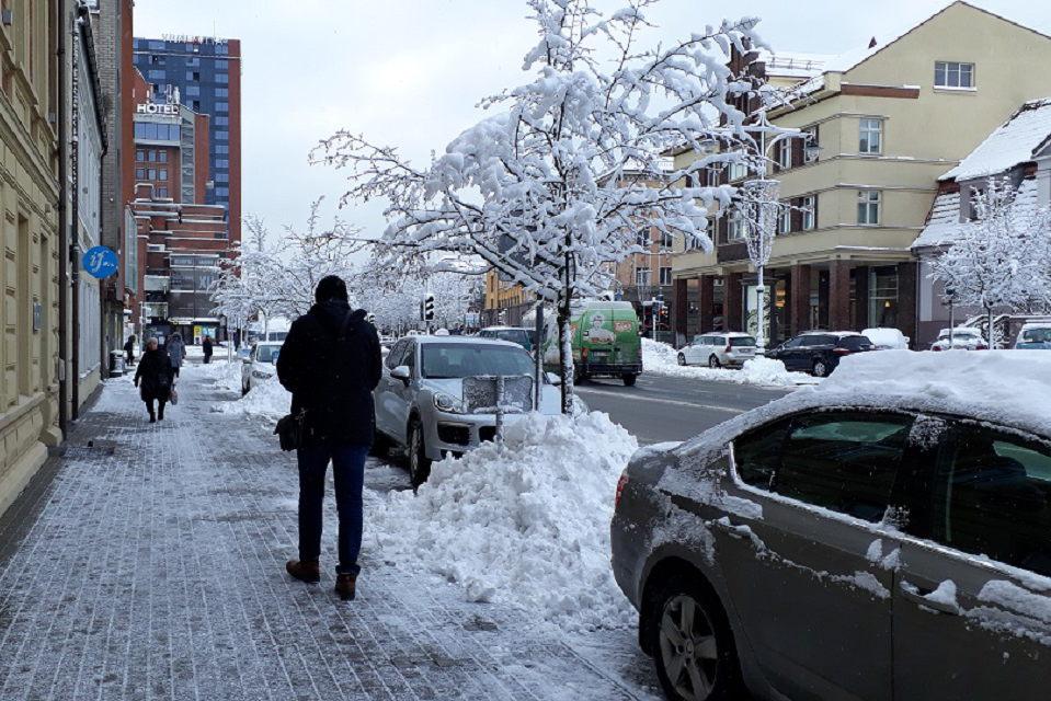 Klaipėda jau pasiruošė žiemos sezonui