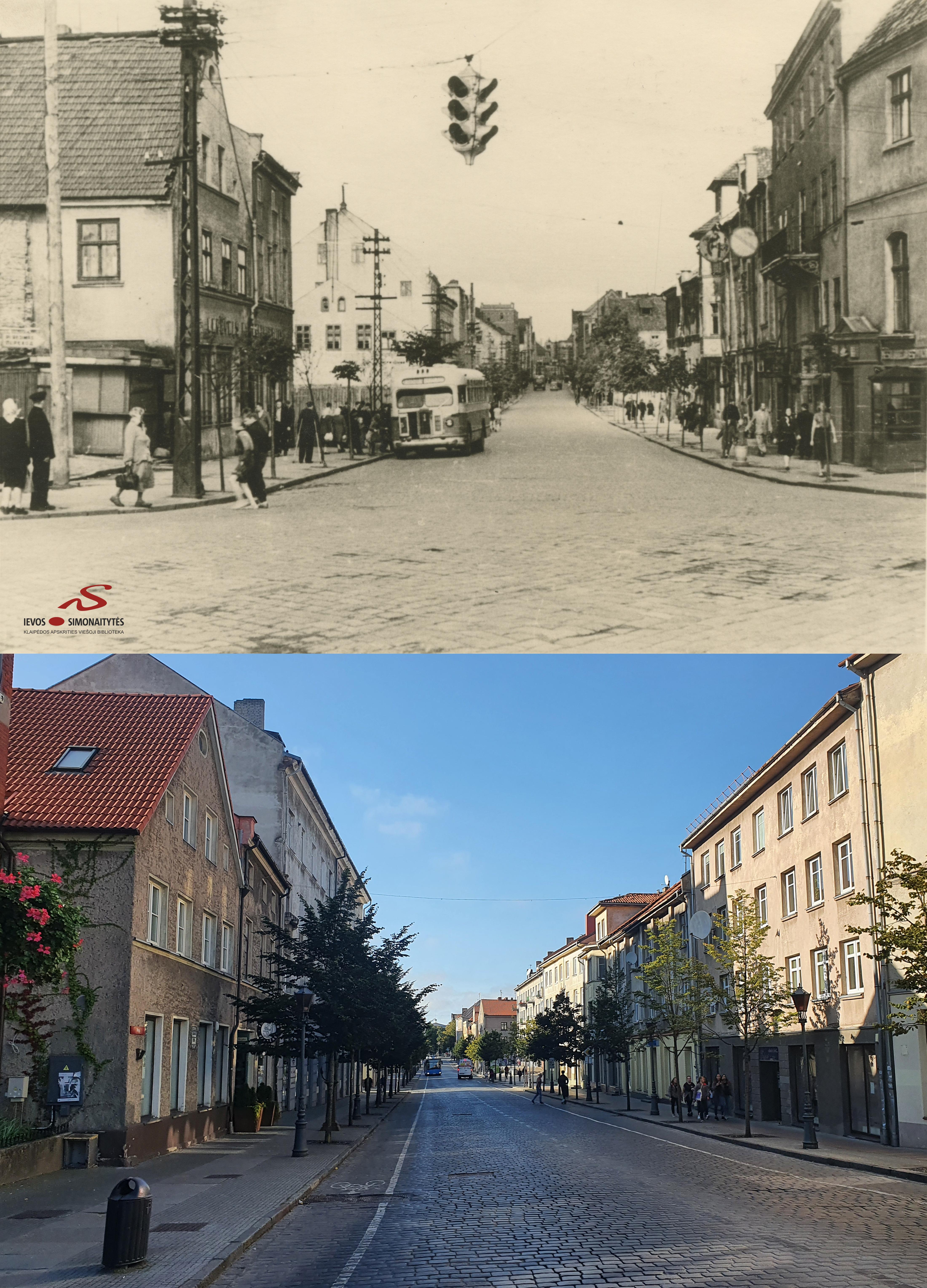 rodo varpą gatvėje)