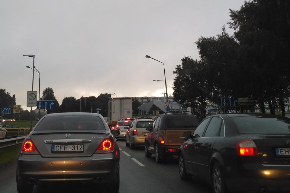 Dėl spūsčių kaltas Centrinis Klaipėdos terminalas?