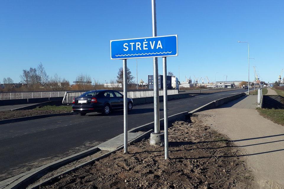 """Kaip Strėva """"atitekėjo"""" į Klaipėdą (papildyta)"""