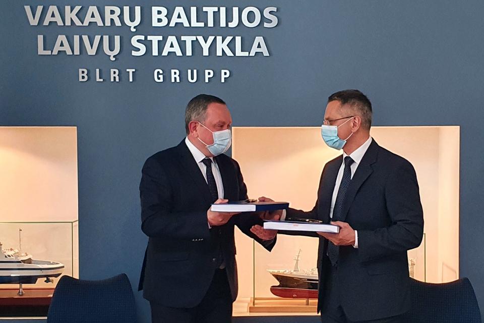"""Vakarų Baltijos laivų statykla statys naują keltą """"Smiltynės perkėlai"""""""