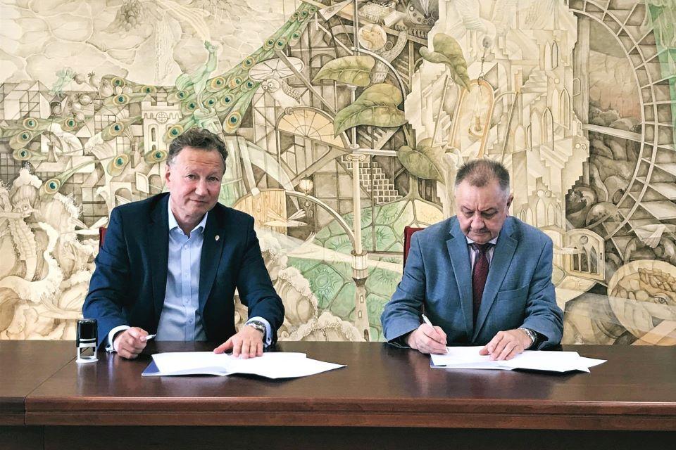 Stiprėja partnerystė tarp Klaipėdos universiteto ir Klaipėdos universitetinės ligoninės