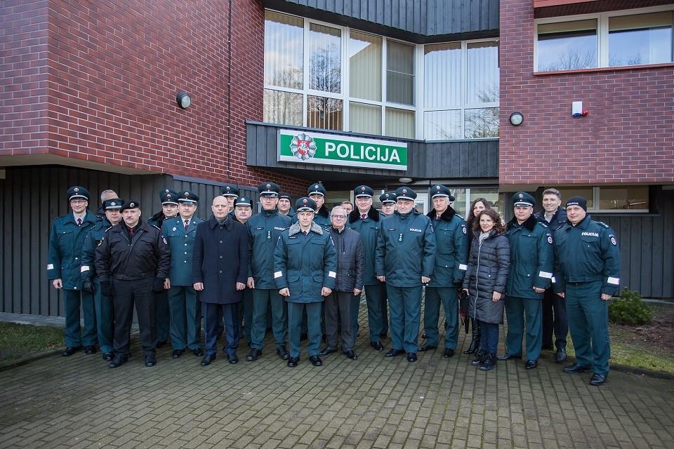 Neringoje – gausios policijos pajėgos