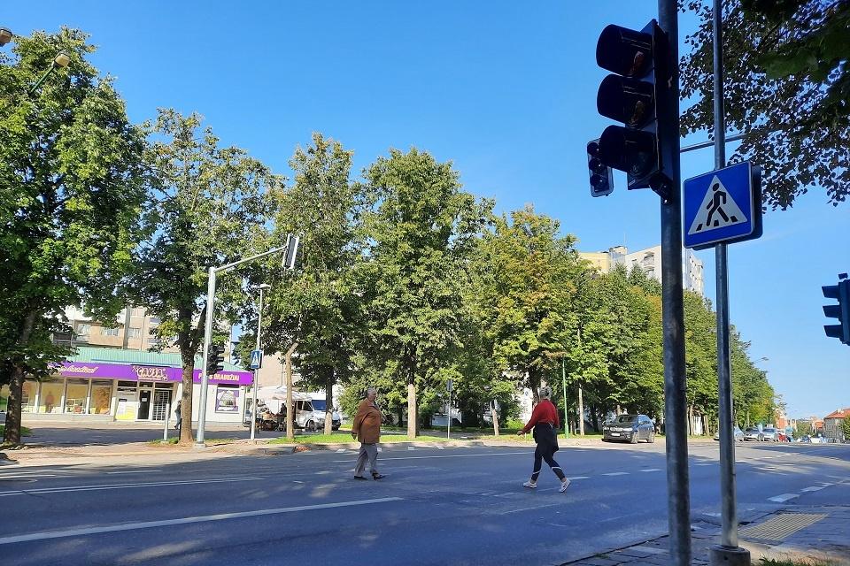 Klaipėdoje pėstiesiems bus saugiau: atsiras daugiau šviesoforų