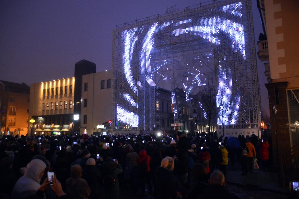 Startavo penktasis Klaipėdos šviesų festivalis