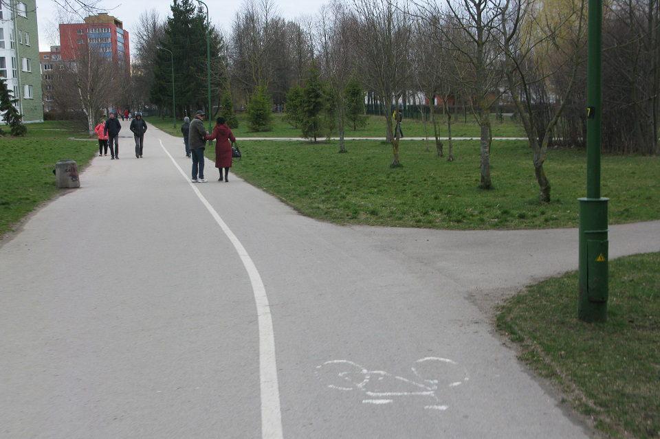 Ne apie dviračių takus – apie mus…