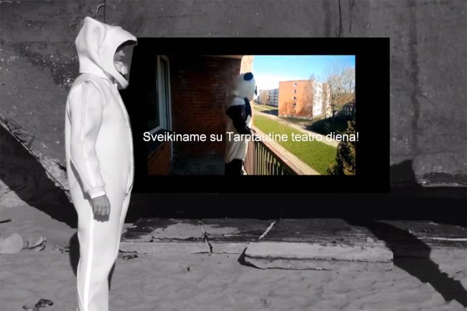 Padėkos kaukės įteiktos virtualiai
