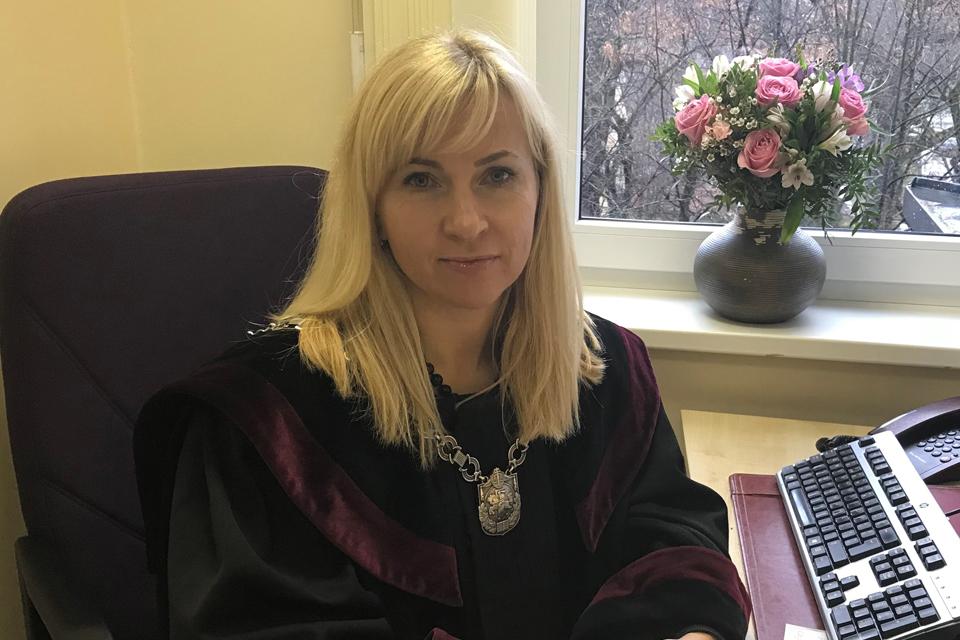 Klaipėdos apylinkės teisme – nauja teisėja
