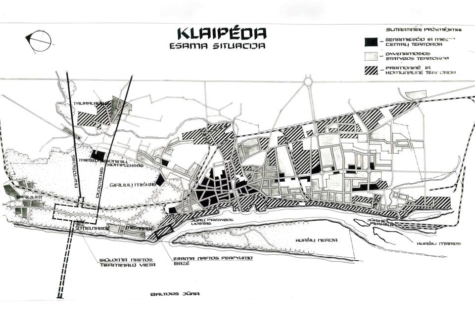 Klaipėdos uostas XX – XXI a. pradžioje: planai ir vaizdai