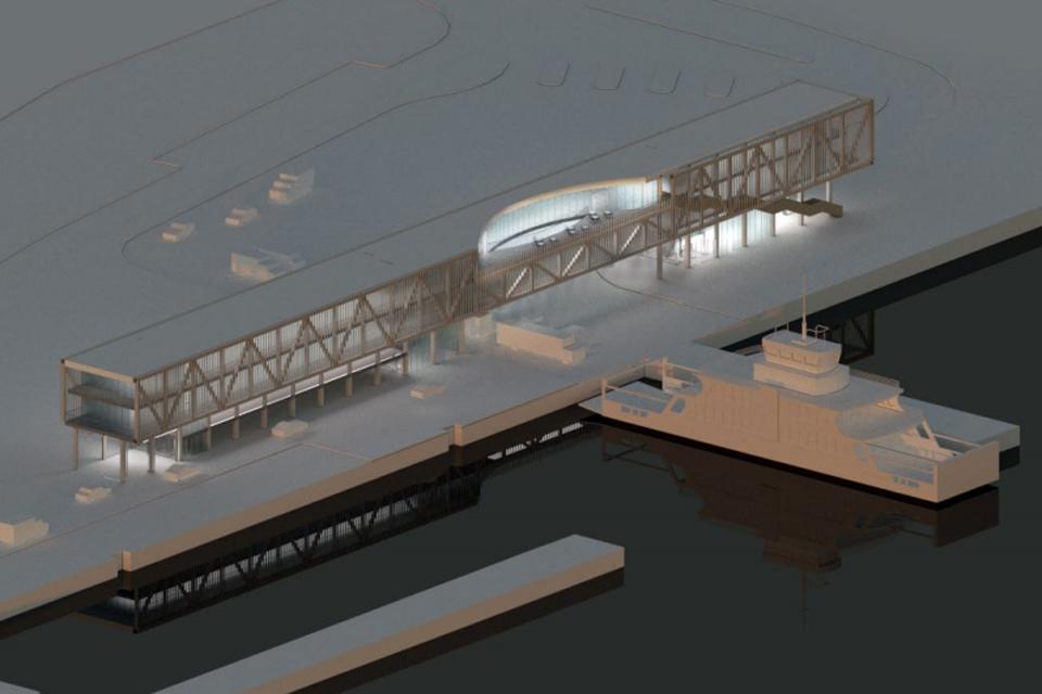 """""""Smiltynės perkėla"""" judina naujo terminalo projektą"""