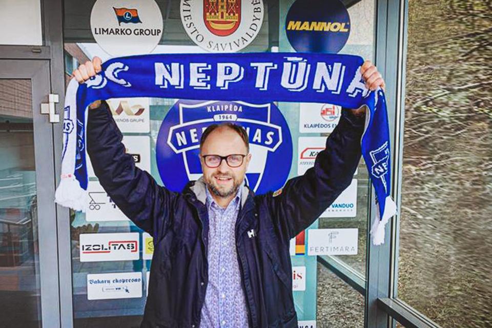 """Naujasis """"Neptūno"""" direktorius – Tomas Mačiulskis"""
