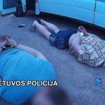 Į Klaipėdą pargabentas vienas iš tarptautinio narkotiktų kontrabandos tinklo vadeivų
