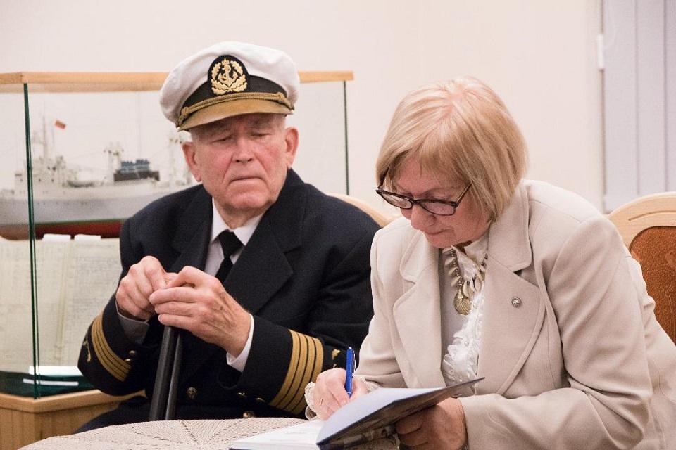 Legendiniam jūrų kapitonui – 80