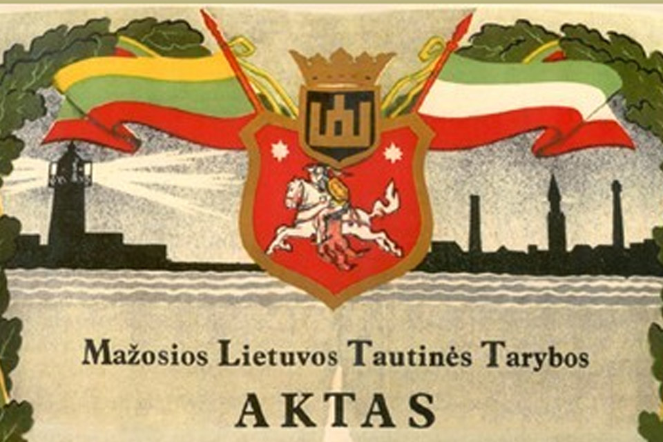 Tilžės aktas kaip vienas kertinių valstybės dokumentų ir šių dienų visuomenės pilietiškumo stoka