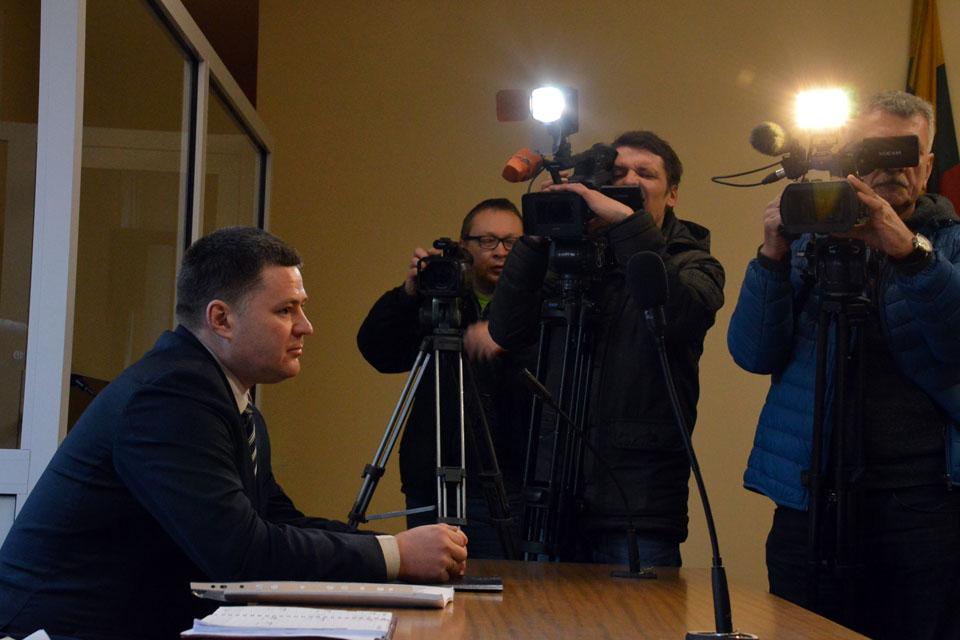 Prasidėjo Viačeslavo Titovo teismas