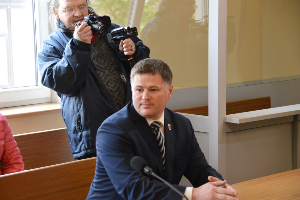 Viačeslavas Titovas išsisuko tik bauda