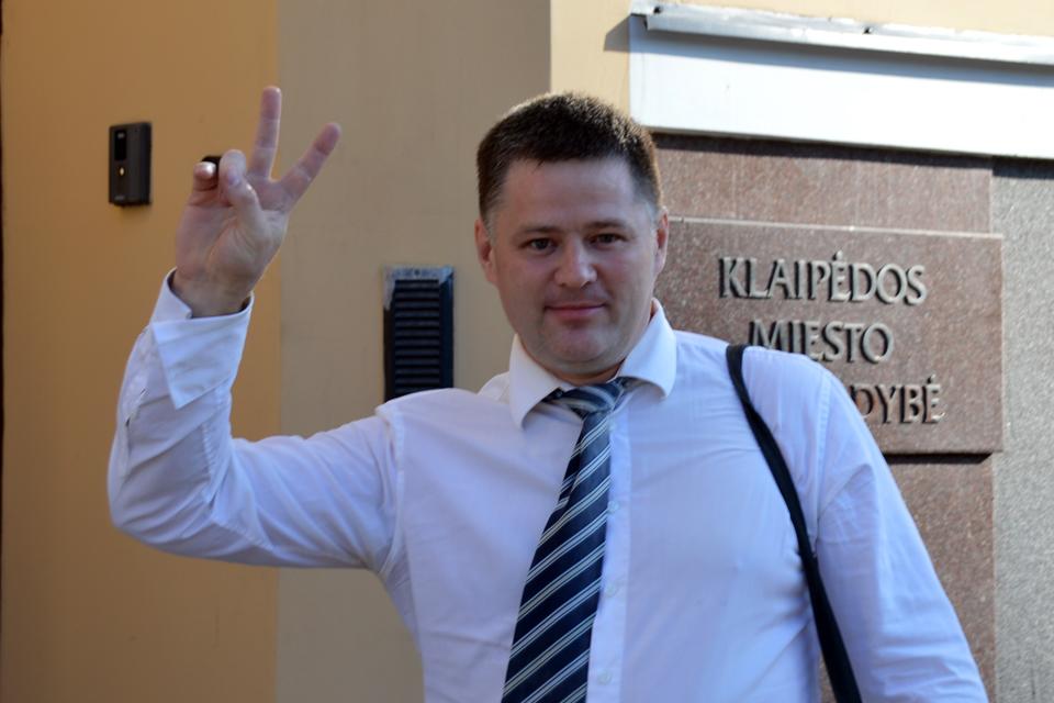 Abejonių nekilo: V. Titovas pašalintas iš Klaipėdos miesto tarybos (papildyta)