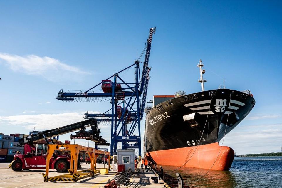Sudarė uosto laivų TOP10