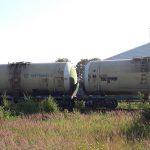 Rimkuose iš traukinio cisternų išsiliejo 5 tonos dyzelino (papildyta)