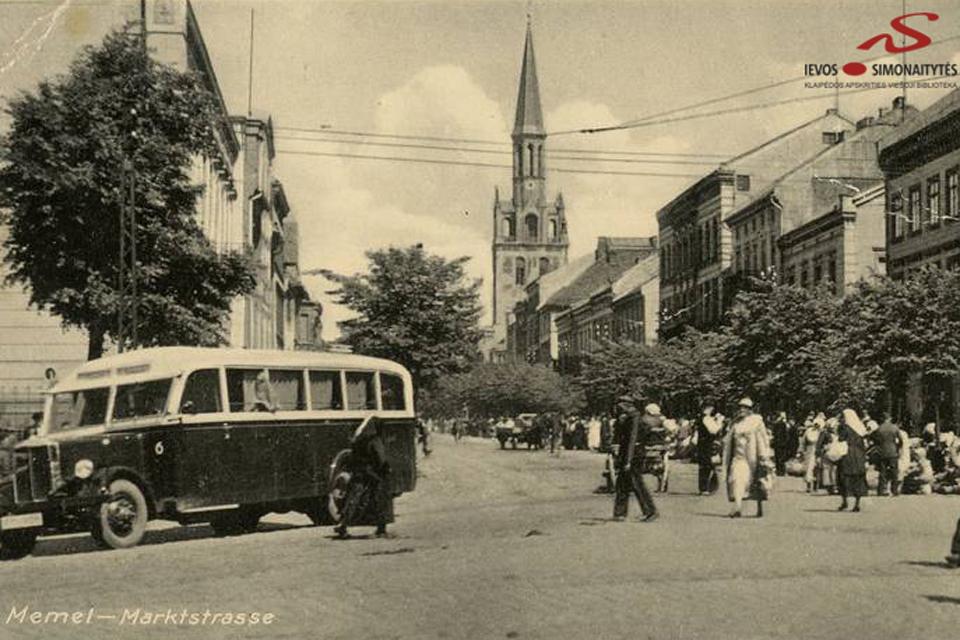 Turgaus gatvė – išskirtinis Klaipėdos bruožas