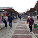 На новом базаре в Клайпеде начинается сезон торговли на открытой территории
