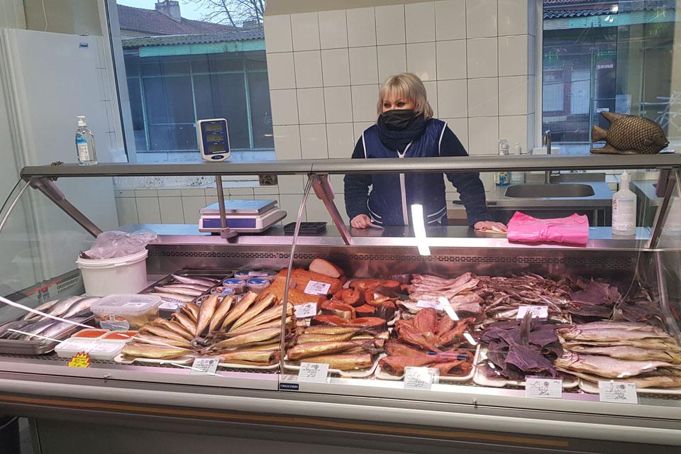 Į Senąjį turgų sugrąžinta prekyba žuvimis