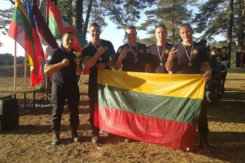 Uostamiesčio ugniagesiai iš narų varžybų grįžo su medaliais