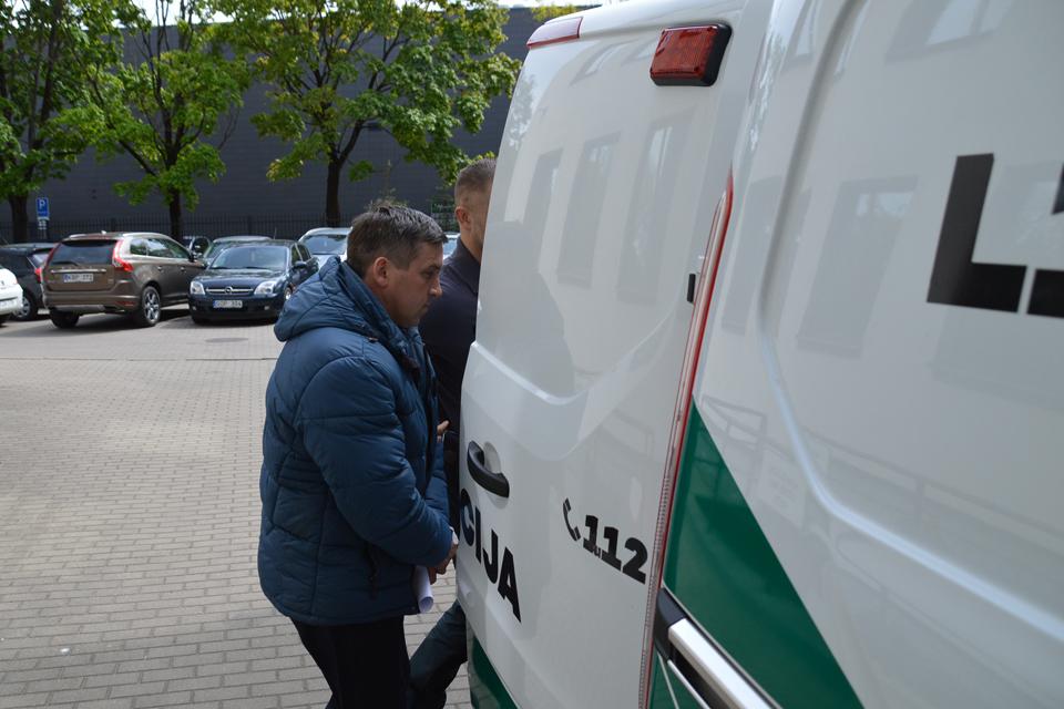 Klaipėdoje tautietį nužudęs ukrainietis kalės trumpiau