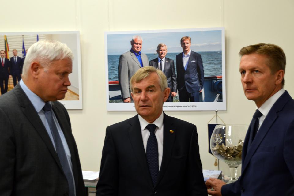 Seimo vadovybė žada paramą uostui