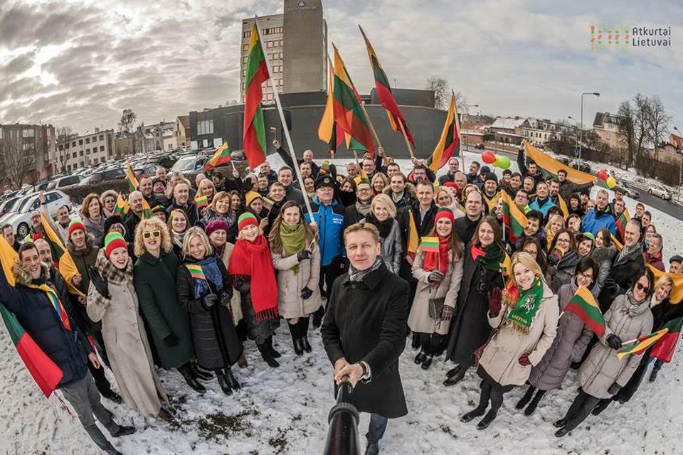 Lietuvai – Klaipėdos uosto sveikinimas