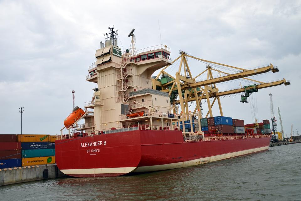 Klaipėdos uostas išlieka lyderiu Baltijos šalyse