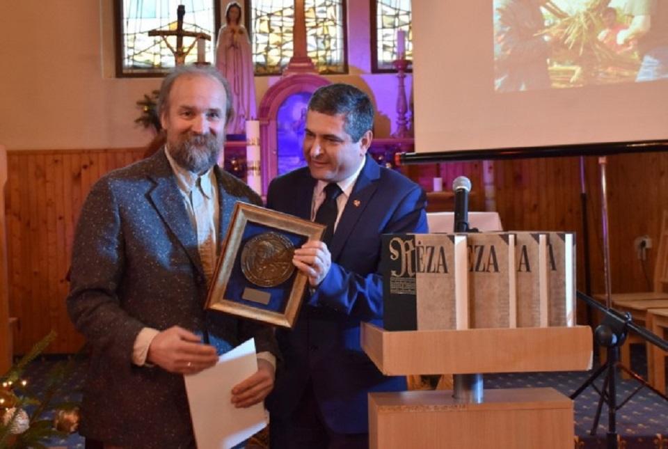 Įteikta 10-oji Liudviko Rėzos premija