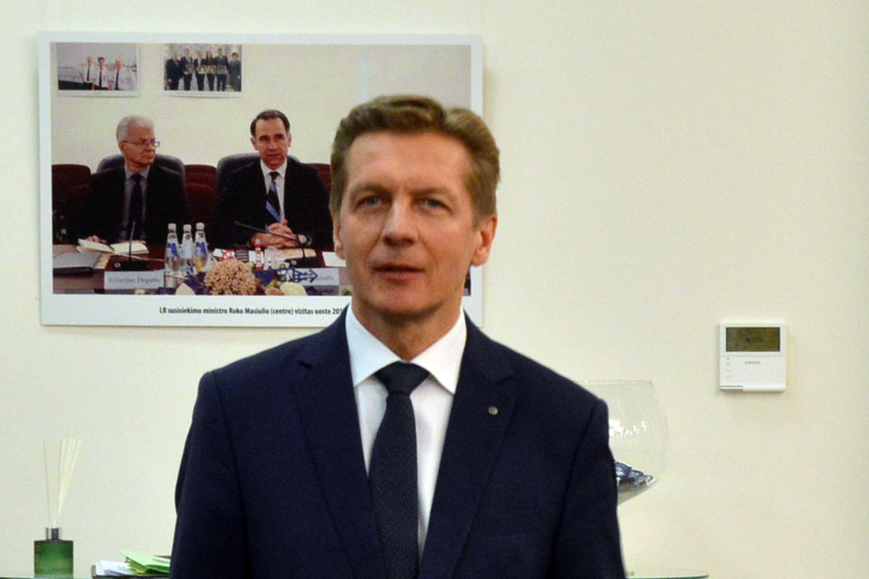 Arvydas Vaitkus Uosto direkcijos konkurse nedalyvaus
