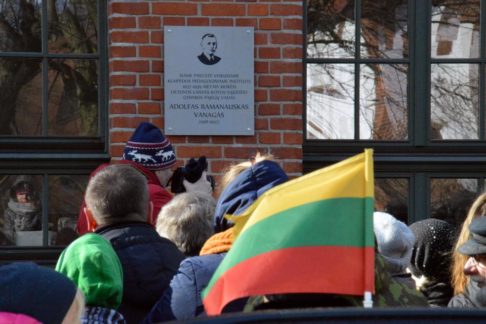 Pagaliau pagerbė Lietuvos didvyrį